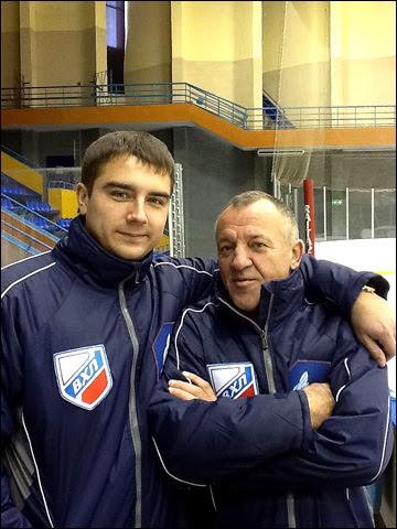Алексей Филиппов (слева) с коллегой Александром Федюниным