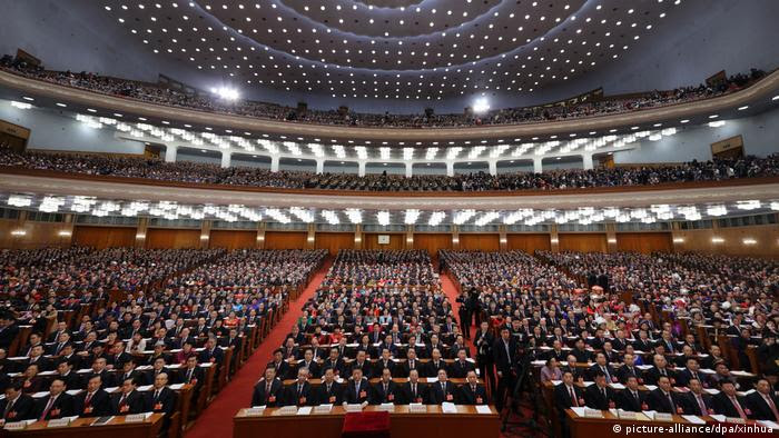 Chinas Volkskongress - Jahrestagung (picture-alliance/dpa/xinhua)