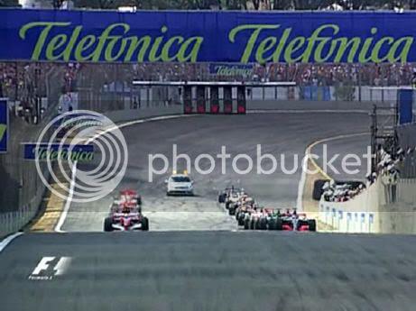 F1 GP Brasil 2006 Salida