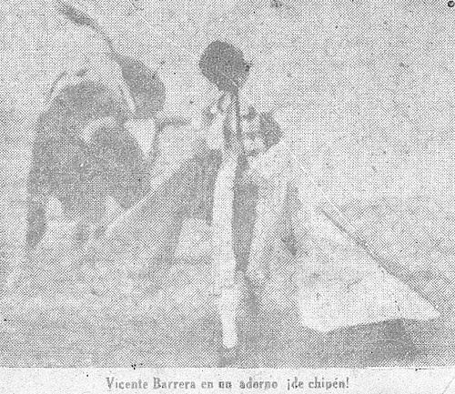 Vicente Barrera y Cambra en Lima, 1934