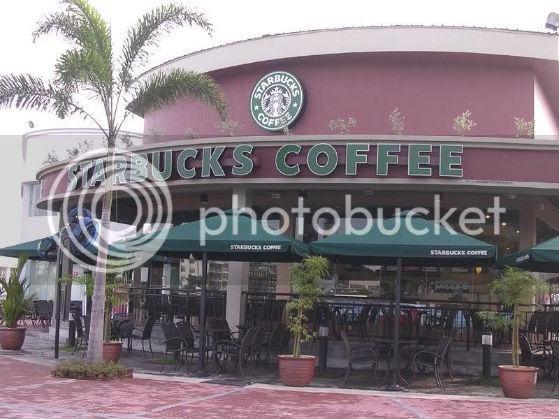 Autocity III Starbucks