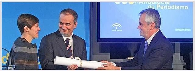 Premio de Periodismo Andalucía a ideal en 2011