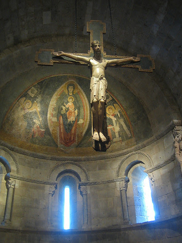Crucifix, Palencia, Castile-León, c. 1150–1200, The Cloisters, The Metropolitan Museum of Art, New York _7894