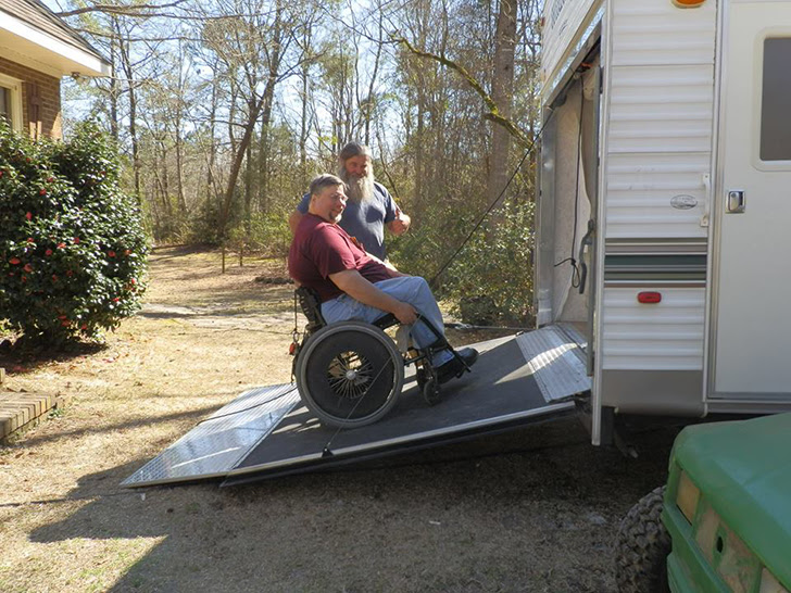 This Wildwood Toy Hauler Was Customized For An Adaptive