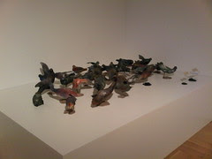 Christy Rupp - Pigeon Flock With Rats