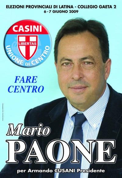 Mario Paone, presidente del Consiglio di amministrazione del Consorzio