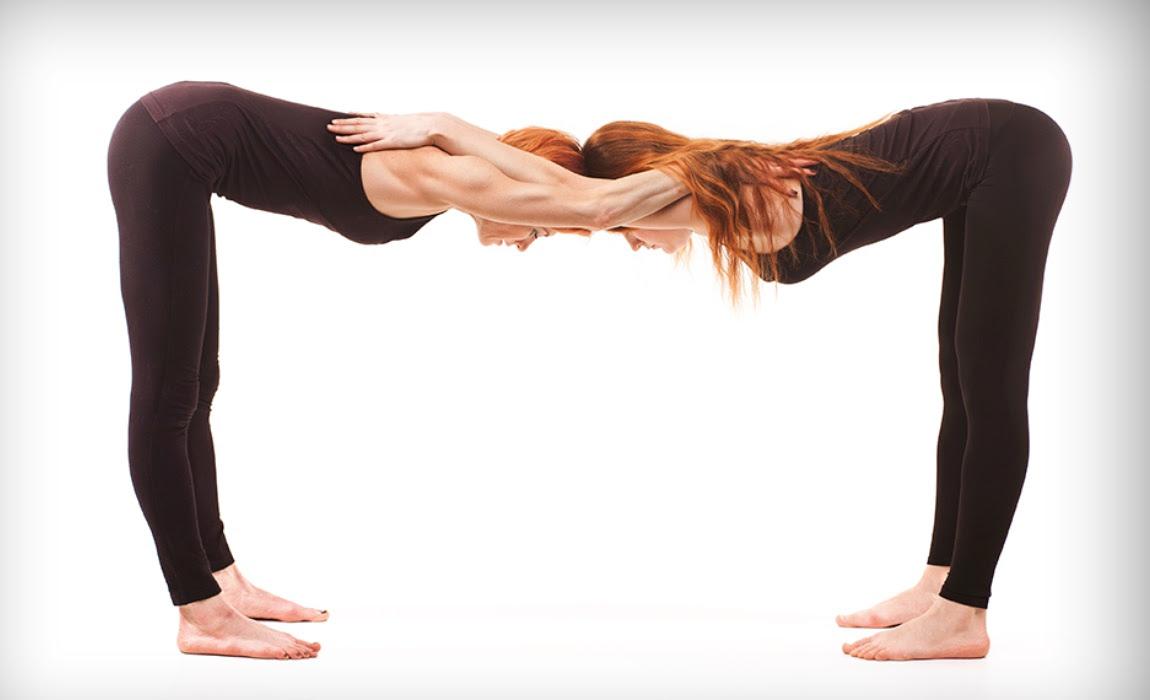 46 Person Yoga Challenge Hard  ABC News