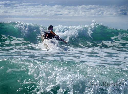Van stick surfing (c)