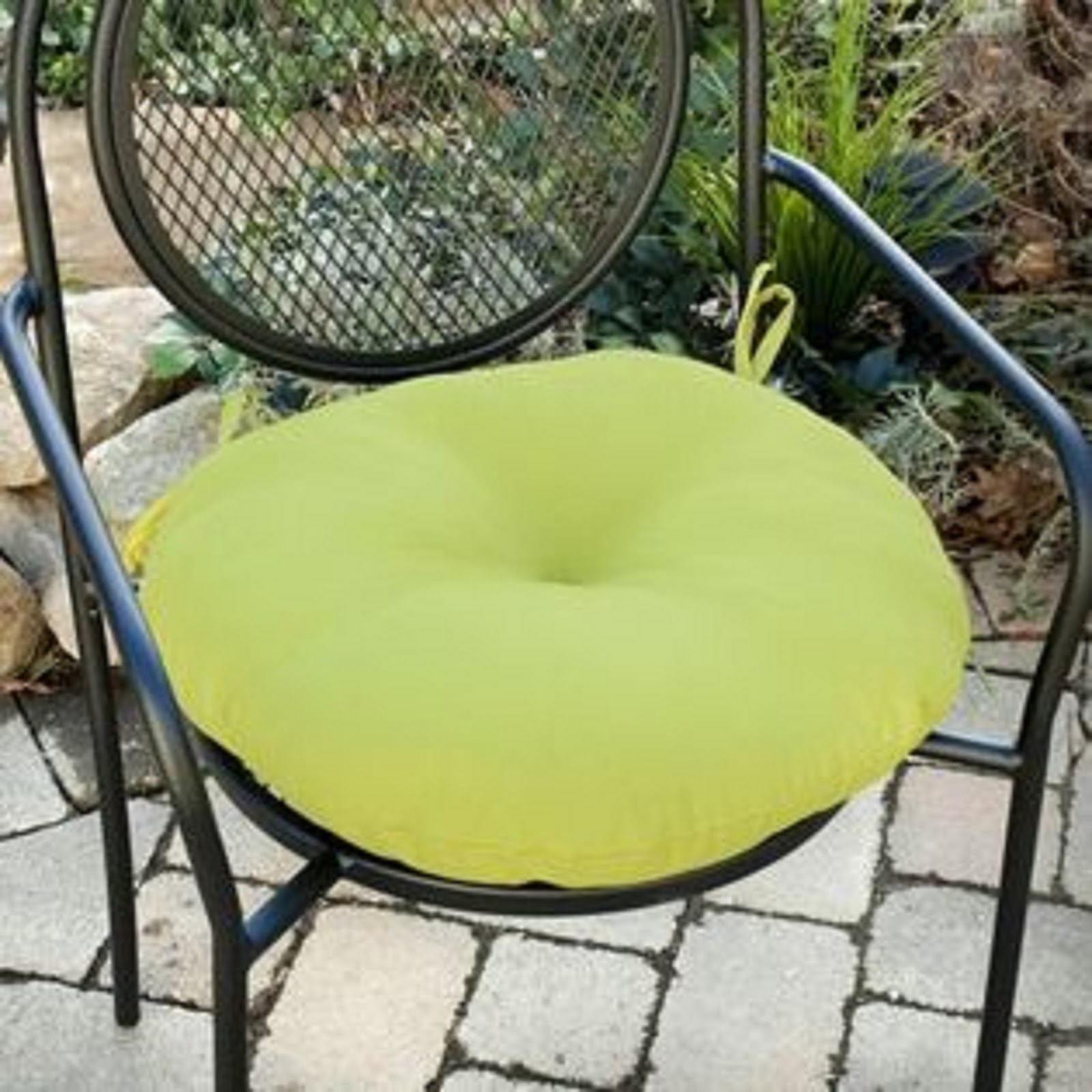 Greendale Home Fashions 18 in. Round Outdoor Bistro Chair ...