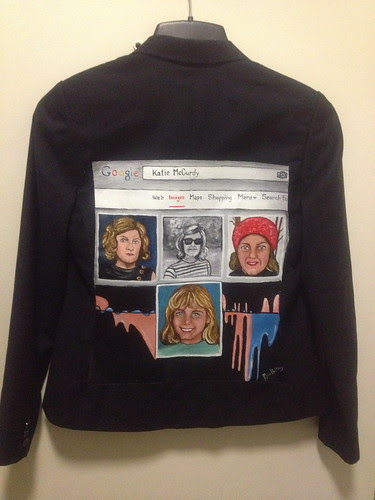 """Quantified Smile"" a jacket for Katie McCurdy"