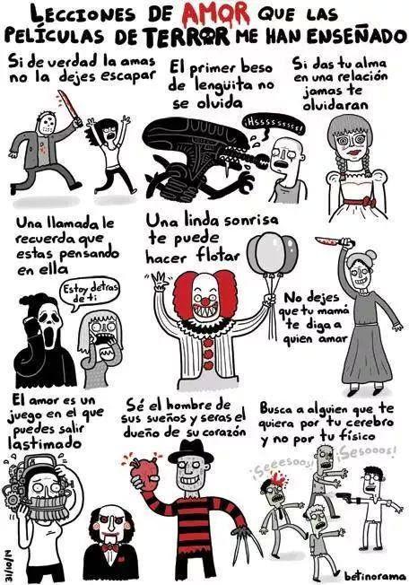 Peliculas De Terror Ocultan Frases De Amor Humor La Estacion Del