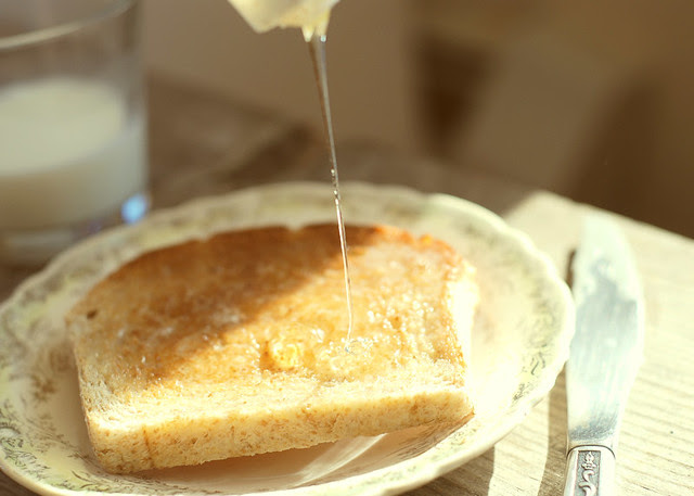 {83/365} - Honey on Toast