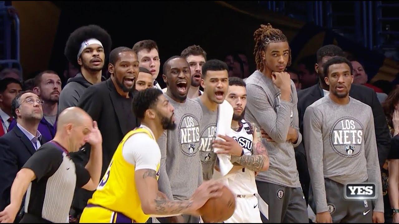 2HYPE Heat vs Lakers NBA Finals Challenges - Nets vs Lakers