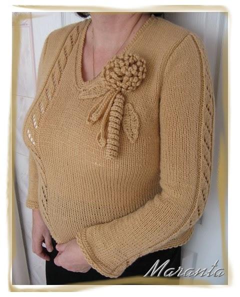 Sweter na drutachSweter na drutach