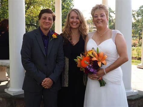 Philadelphia Gay Wedding Officiant   Donna Forsythe, Celebrant