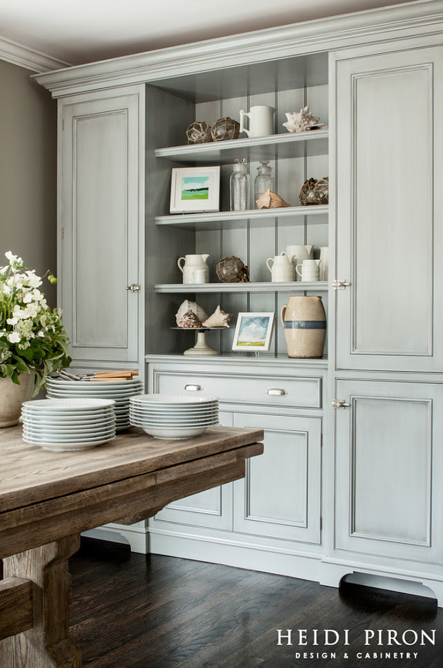 Dining Room Hutch Custom Dining Room Hutch Dining Room Hutch Cabinet Ideas Dining Room Hutch Design #DiningRoom #Hutch   Heidi Piron Design & Cabinetry