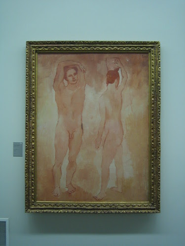 Les Adolescents by Picasso, Musée de l'Orangerie, Paris
