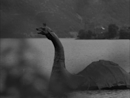 Two submarines are launched as the hunt goes on for the Loch Ness monster. The first sighting of the monster was in 1933.