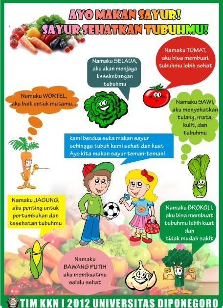 Contoh Iklan Makanan Sehat Cilikos