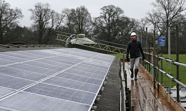 Solar project in Balcombe