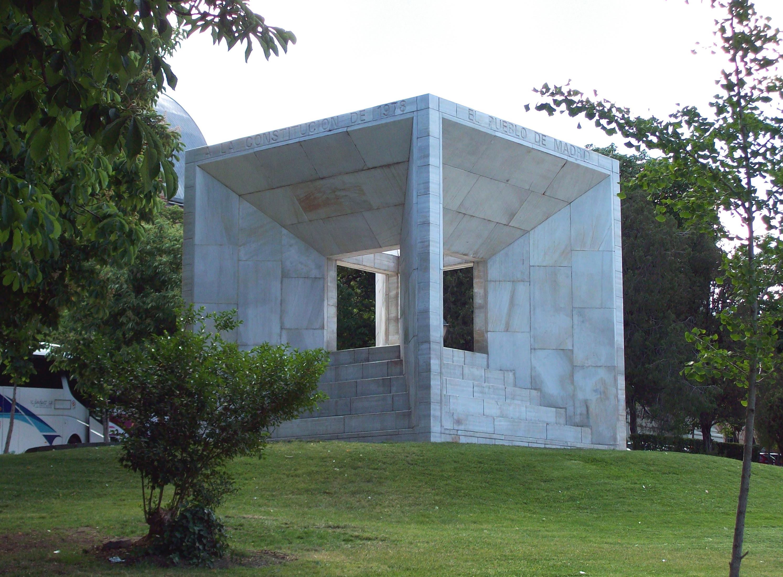 Monumento a la Constitución Española de 1978 en Madrid
