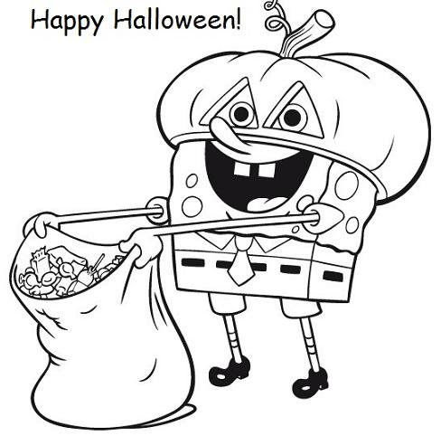 9400 Spongebob Coloring Pages Images , Free HD Download