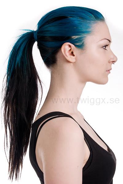 Haare Blau Tonen Ohne Blondieren