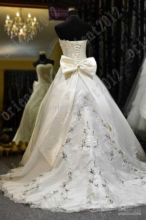 Pearl Color Wedding Dress