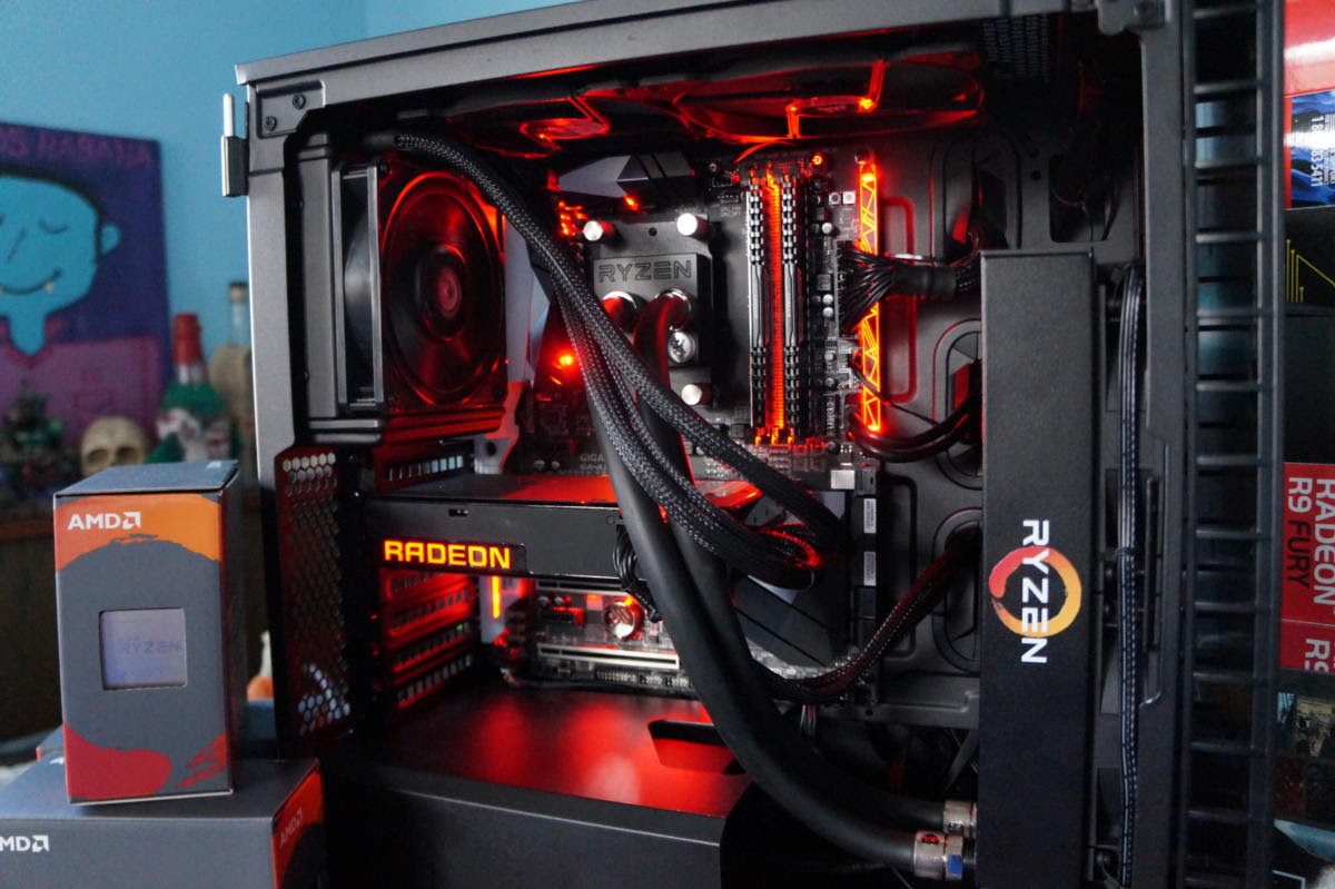 amd ryzen 1800x build 7