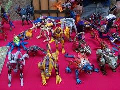 Ticobot 2008 - Exhibición de figuras