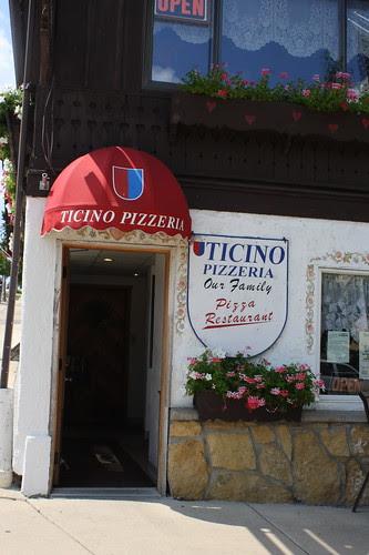 Ticino Pizzeria, New Glarus, WI