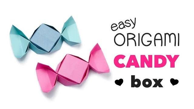 scatolina caramella origami tutorial
