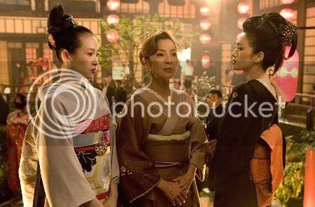Sayuri, Mameha y Matsumomo
