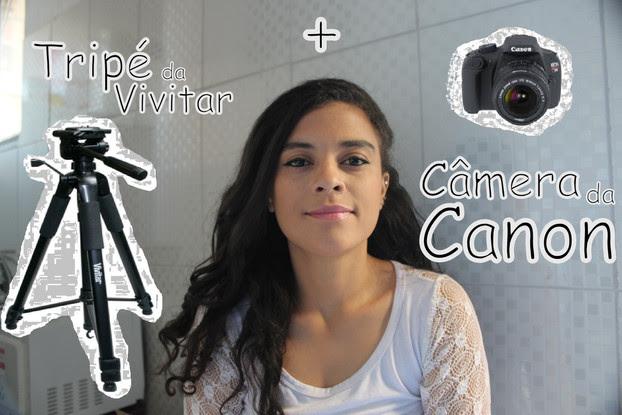 Tripé + Câmera