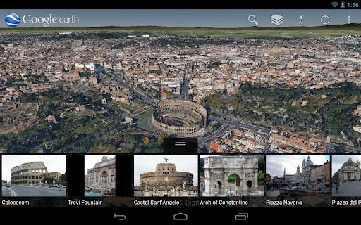 Google Earth for Android gets new 3D maps for some cities