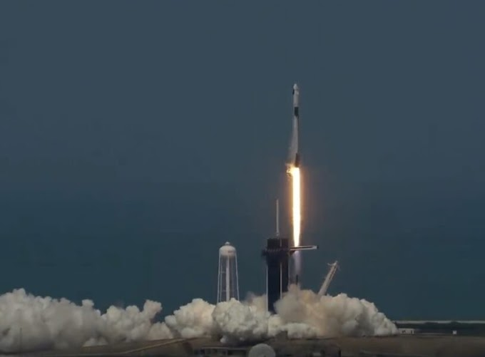 NASA, SPACEX LAUNCH HISTORIC MISSION TO INTERNATIONAL SPACE STATION