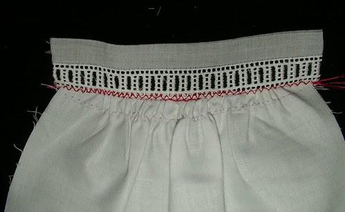remove basting threads