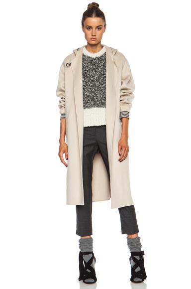 Isabel Marant|Hacene Double Face Wool-Blend Coat in Beige [1]