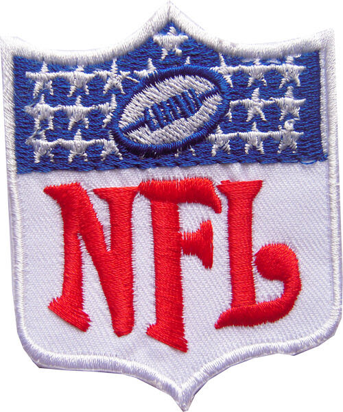 New NFL, National Football League shield logo embroidered iron on patch. i51  eBay
