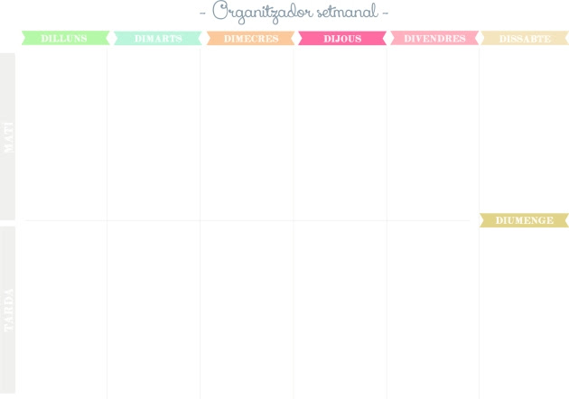 Organitzador setmanal