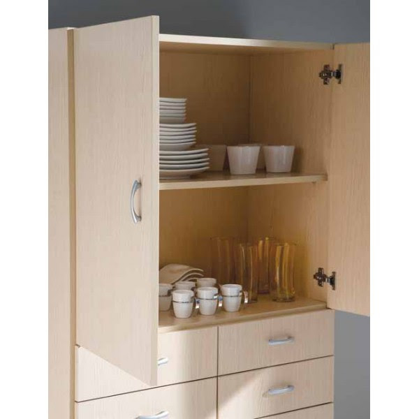 Dormitorio Muebles modernos: Armario auxiliar cocina