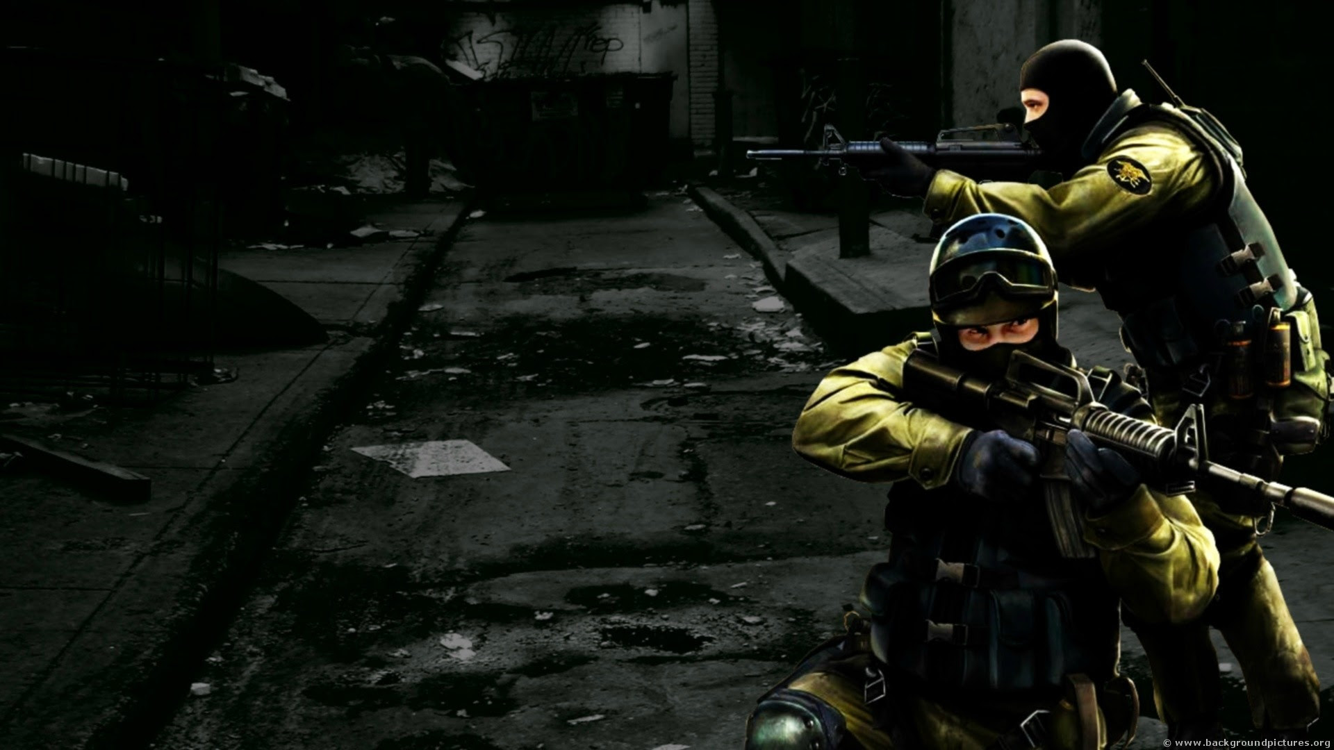 While Playing Counter Strike 1.6, HD Wallpaper [1920x1080]