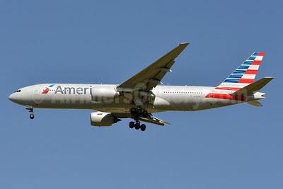 American Airlines Boeing 777-223 ER N782AN (msn 30003) DFW (Brian Peters). Image: 911833.
