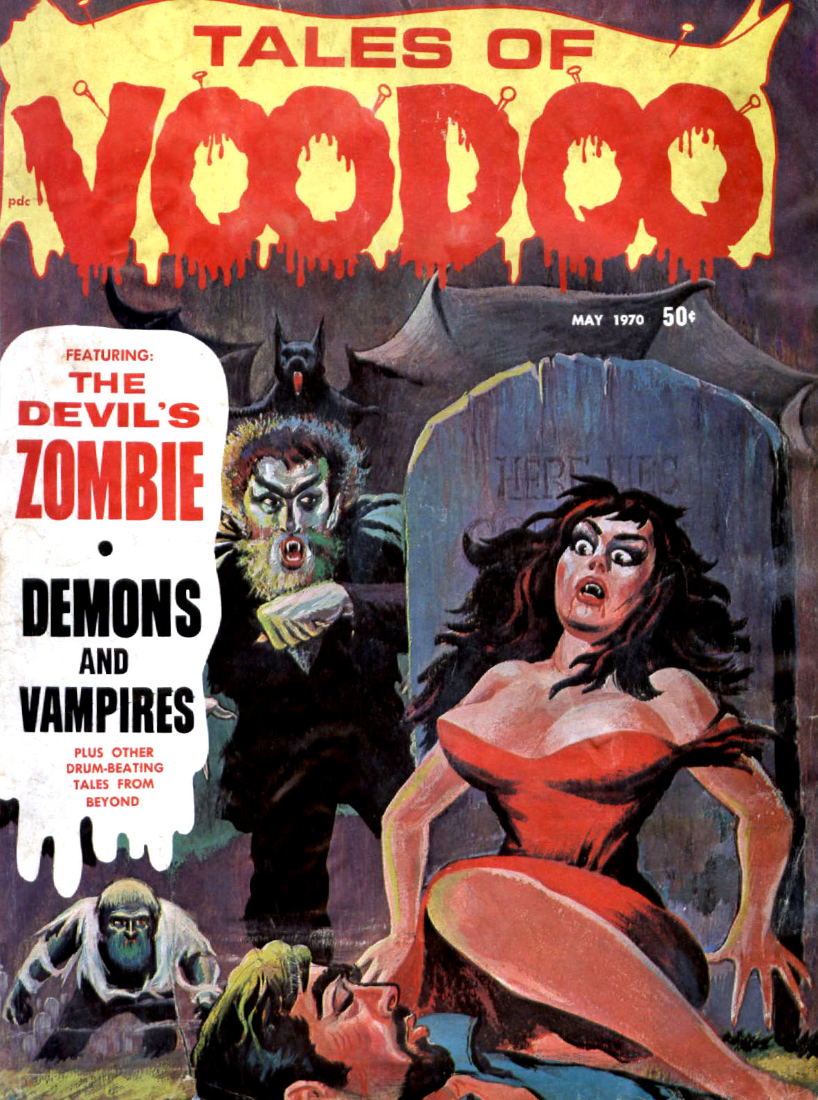 Tales of Voodoo Vol. 3 #3 (Eerie Publications 1970)