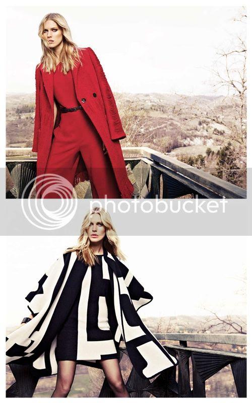 Escada Fall 2012 Ad Campaign
