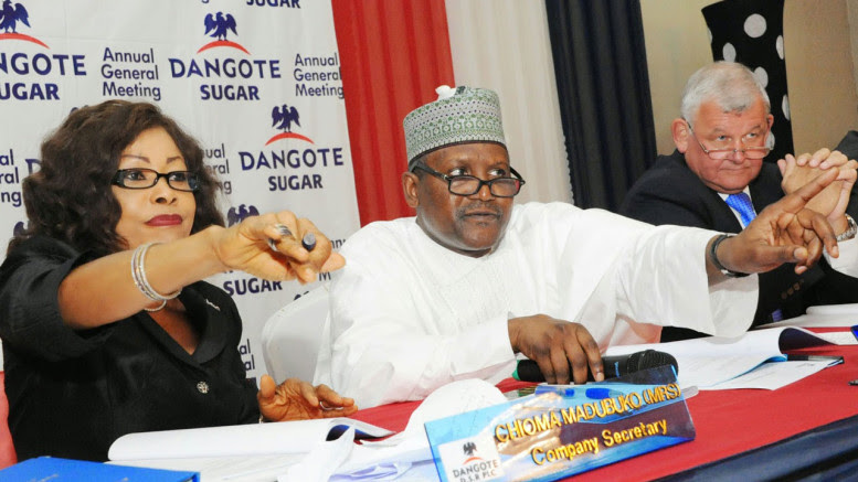 Dangote Sugar Refinery Plc has concluded plans to intensify its refined sugar from locally grown sugarcane