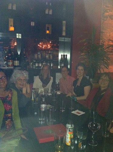 Britex meetup group at wine bar