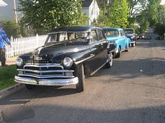 Vintage cars on my street