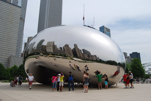"Chicago Cloud Gate ""The Bean"" 2"