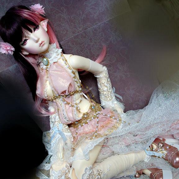 Maskcatdoll Elf Xilv by Atelier-Cynamon